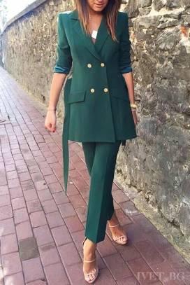 γυναικείο κοστούμι AELLA GREEN bda8f48e1bf